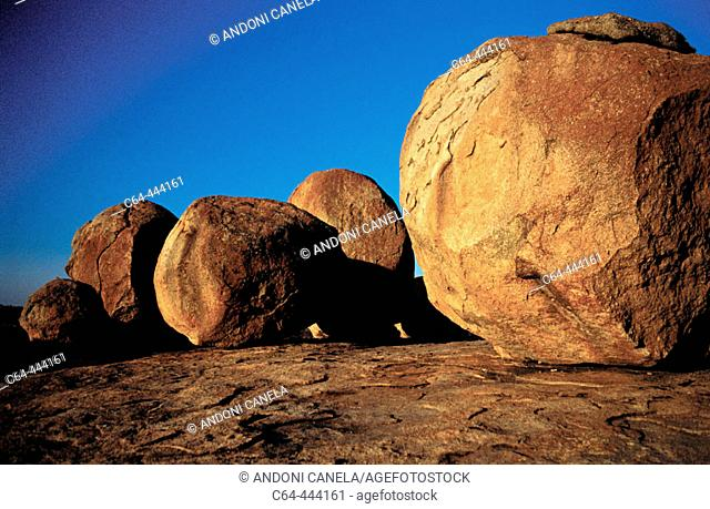Rocks. Matopos National Park. Zimbabwe