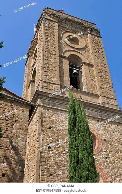 Palace of Bishops bell tower in Florence