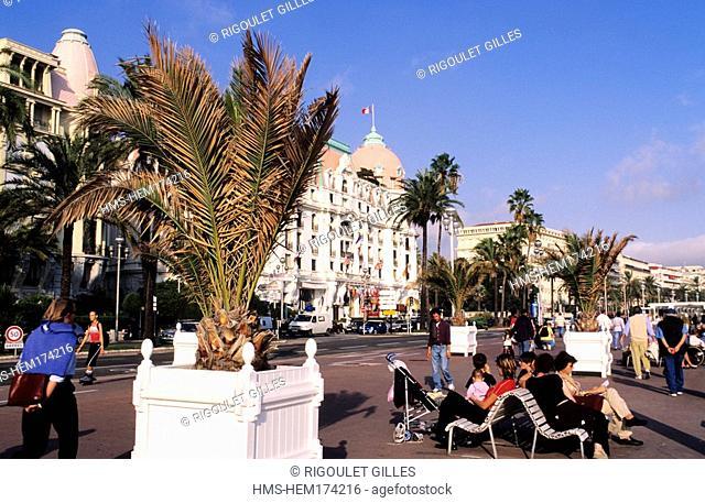 France, Alpes maritimes, Nice, Promenade des anglais