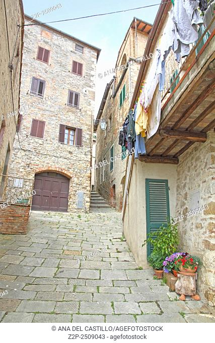 old town Castiglione d' Orcia, Tuscany Italy