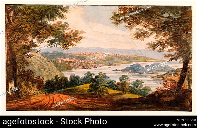 Washington and Georgetown from the Alexandria Road. Artist: Pavel Petrovich Svinin (1787/88-1839); Artist: After G.I. Parkyn; Date: 1811-ca