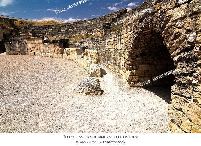 Anfiteatro romano. Segóbriga. Cuenca - Castilla-La Mancha. Spain