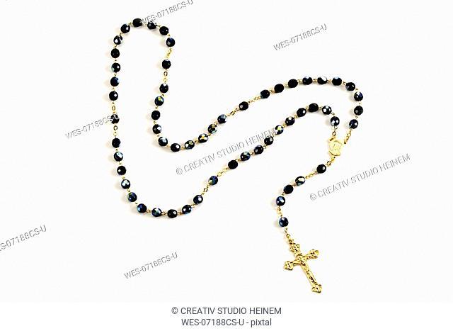 Rosary, close-up
