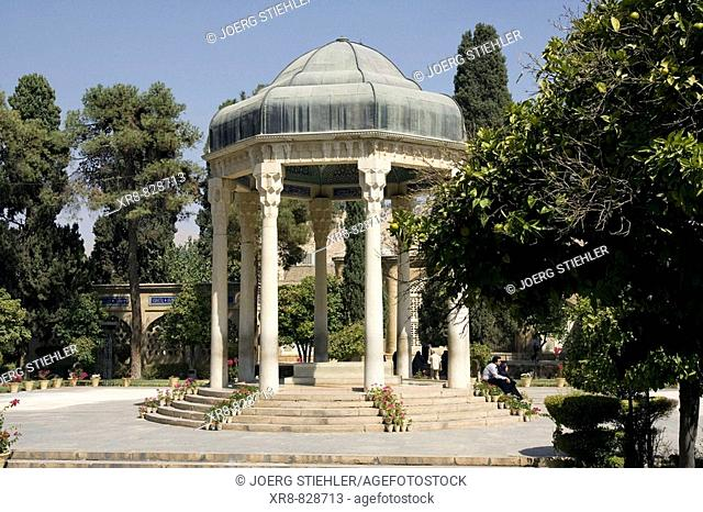 Iran, Shiraz, Tomb of Hafez