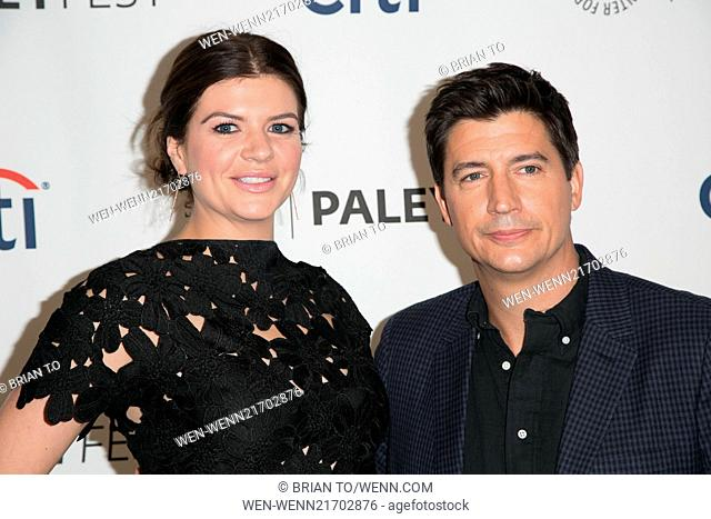 2014 PALEYFEST NBC preview panel at The Paley Center for Media - 'Marry Me' - Arrivals Featuring: Casey Wilson,Ken Marino Where: Los Angeles, California