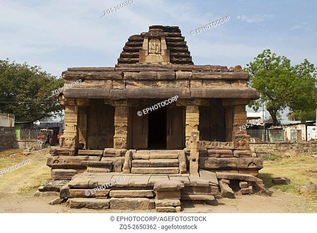 Badigera gudi (temple), Aihole, Bagalkot, Karnataka, India. Galaganatha Group of temples