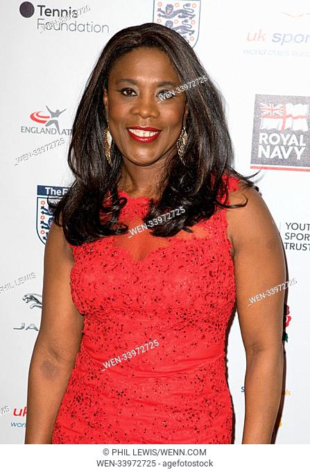 Guests attend The 4th British Ethnic Diversity Sports Awards 2018 Featuring: Tessa Sanderson Where: London, United Kingdom When: 24 Mar 2018 Credit: Phil...