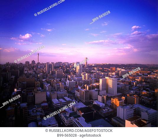 Downtown Skyline, Johannesburg, South Africa