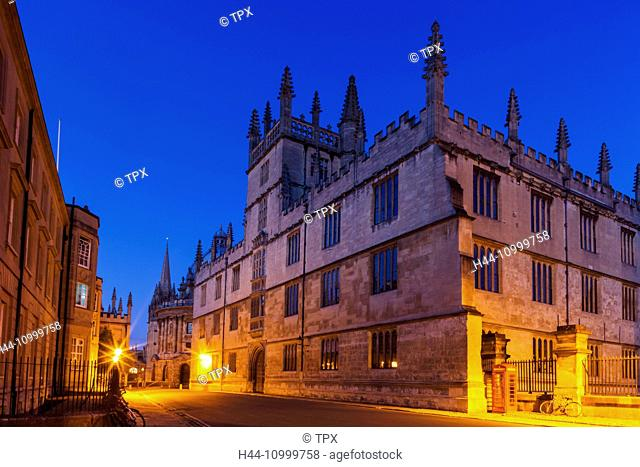 England, Oxfordshire, Oxford, Bodleian Library