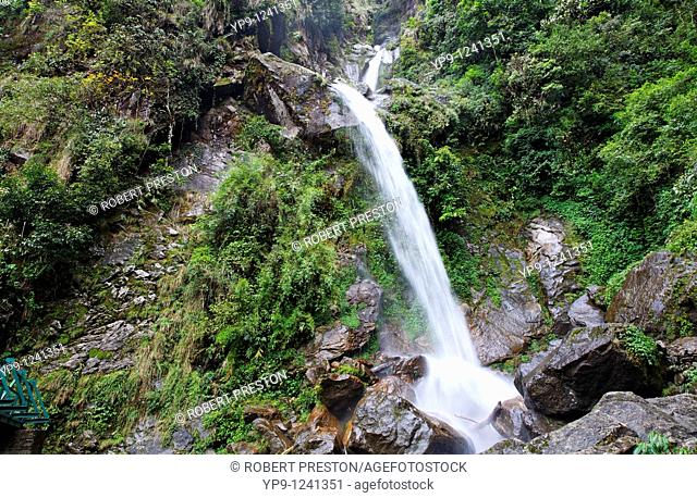 India - Sikkim - Seven Sisters waterfall