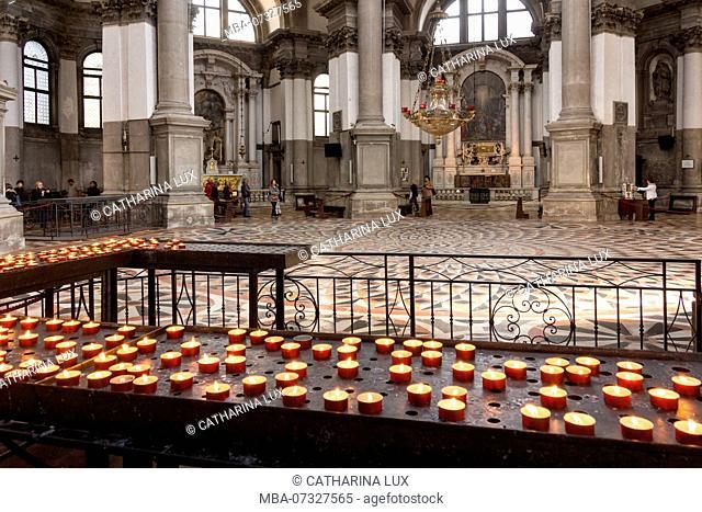 Venice, church Santa Maria della Salute, interior