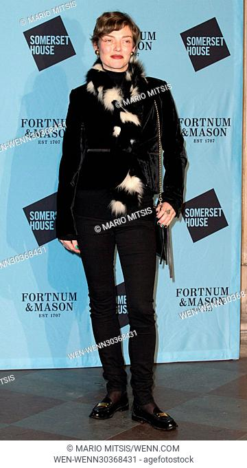 The Skate at Somerset House with Fortnum & Mason Launch Party held at the Somerset House - Arrivals Featuring: Camilla Rutherford Where: London