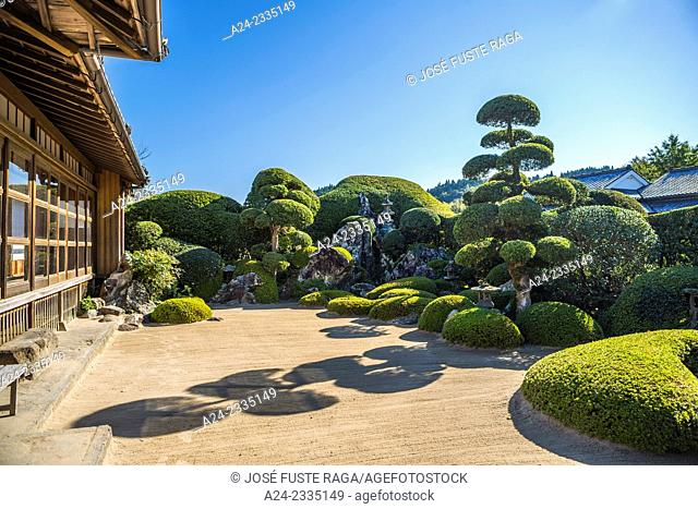 Japan , Kyushu Island,Chiran Village , samurai houses, main street
