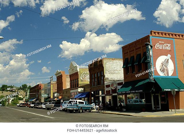 Livingston, MT, Montana, downtown