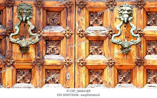 Door Detail Palau de Mar i Cel