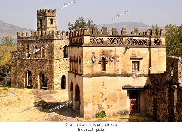 Old palace Gemp Gondar Ethiopia