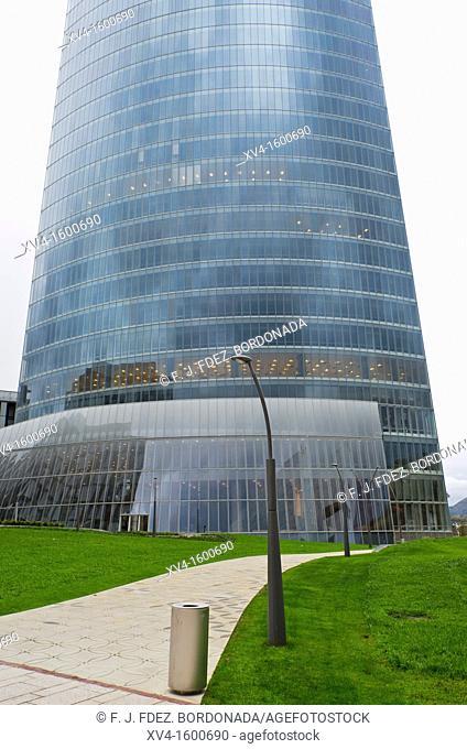 Iberdrola building  Bilbao  Basque Country, Spain