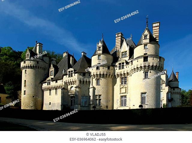 Usse Castle, Loire Valley, France --also known as Sleeping Beauty Castle