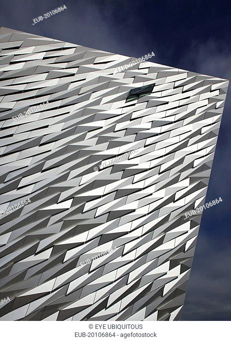 Titanic Quarter Visitor centre designed by Civic Arts & Eric R Kuhne