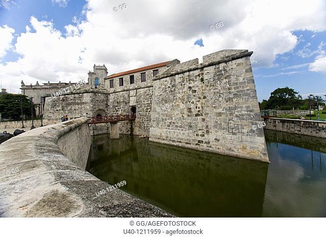 Castillo de la Real Fuerza fortress, Habana Vieja, Havana, Cuba