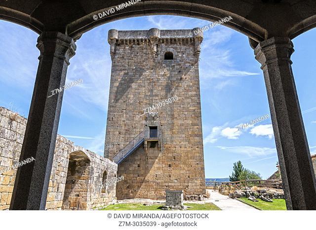 Castillo de Monterrey. Verín. Orense. Galicia. Spain