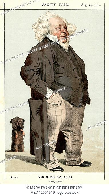 Sir Henry Cole (1808-1882), English civil servant and inventor. He used a pseudonym, Felix Summerly, for design work and children's books
