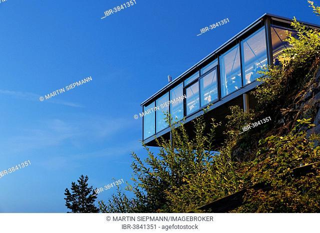 Panoramarestaurant Karren restaurant, Dornbirn, Vorarlberg, Rhine Valley, Austria