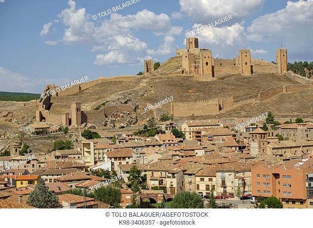 castillo de Molina de Aragón, fortaleza de Molina de los Caballeros, Molina de Aragón, Guadalajara, comunidad autónoma de Castilla-La ManchaSpain, Europe