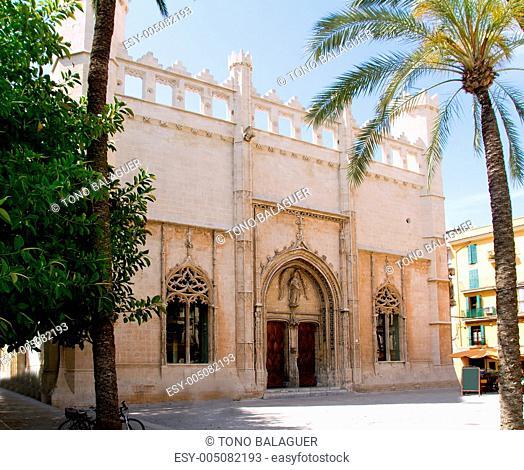 La Lonja monument in Palma de Mallorca from Majorca