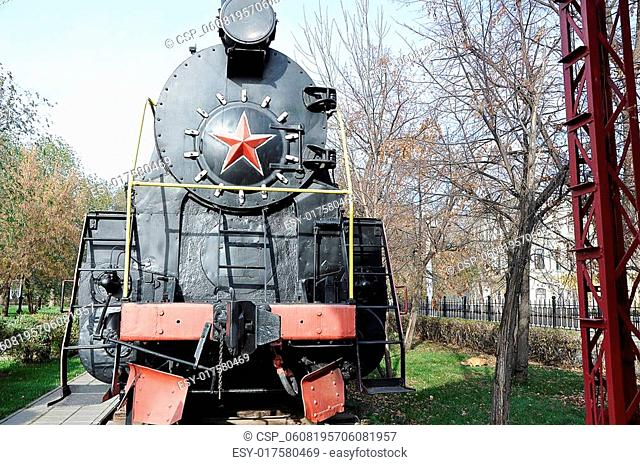 Elements of the steam locomotive