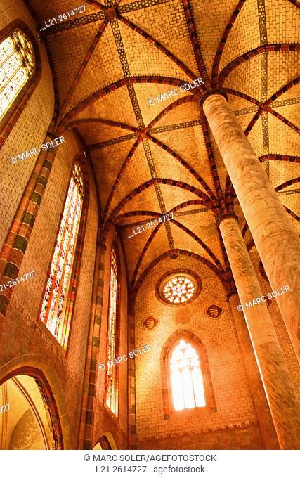 Couvent des Jacobins, Les Jacobins Church. Toulouse, Haute Garonne, France