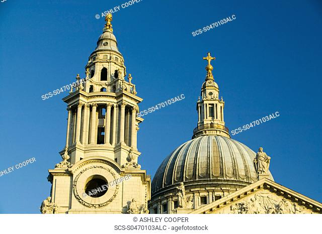 St Pauls Cathedral in London UK