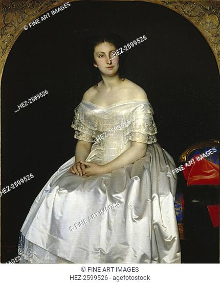 Portrait of Princess Maria Vasilyevna Vorontsova (1819-1894), 1851. Found in the collection of the State Tretyakov Gallery, Moscow