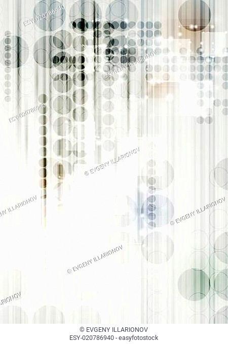 Vector modern technical background