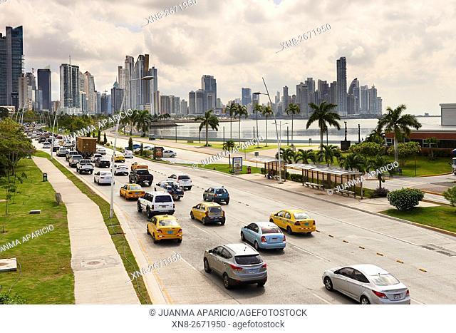 Cinta Costera, Panama City, Republic of Panama, Central America