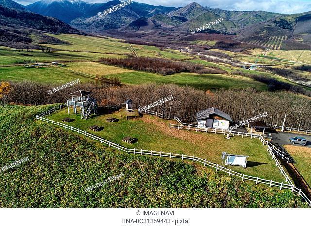 Maruyama Observatory in Shimizu Town, Hokkaido, Japan