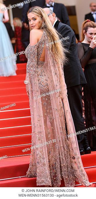 70th Annual Cannes Film Festival - 70th Anniversary Gala Featuring: Rita Ora Where: Cannes, United Kingdom When: 23 May 2017 Credit: John Rainford/WENN