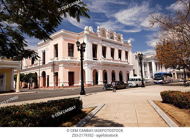 Tomas Terry Theatre at Jose Marti Park, Plaza De Armas, Cienfuegos, Cuba, West Indies, Central America
