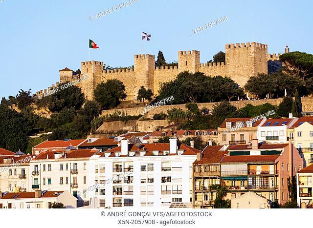 S. Jorge Castle, Lisbon, Portugal, Europe