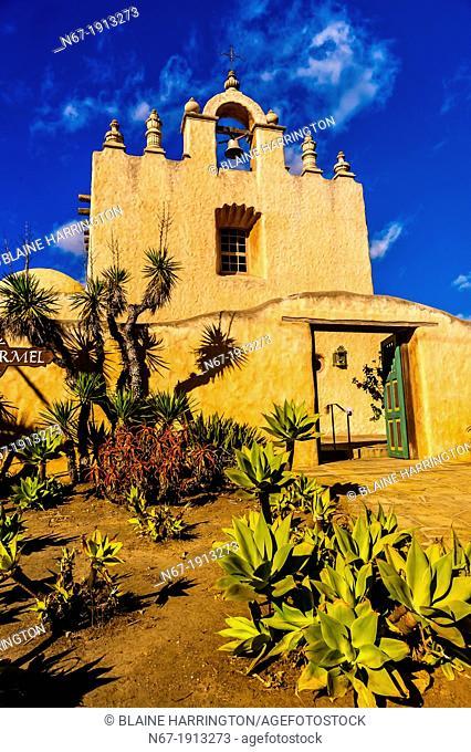 Our Lady of Mount Carmel Church, East Valley Road, Montecito Santa Barbara, California USA