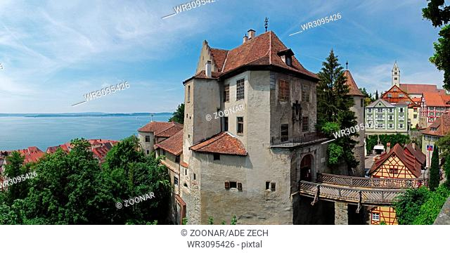 Panoramic view of the Meersburg