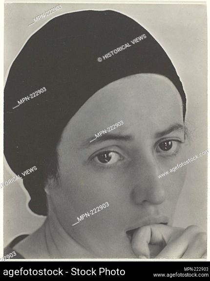 Dorothy Norman - c. 1931 - Alfred Stieglitz American, 1864-1946 - Artist: Alfred Stieglitz, Origin: United States, Date: 1927-1936, Medium: Gelatin silver print