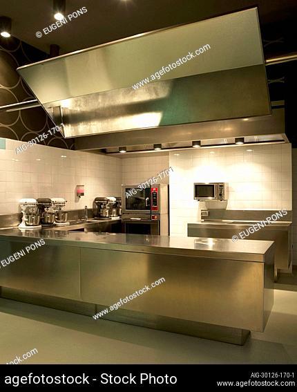 Cookery school Espai Sucre restaurant, Barcelona