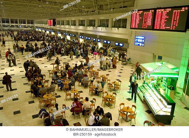 Antalya Turkey check in at the airport