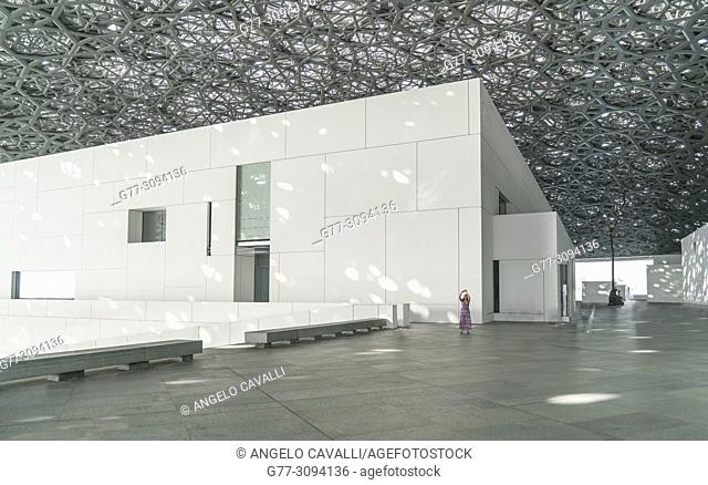 Abu Dhabi, United Arab Emirates. The Louvre Museum of Abu Dhabi