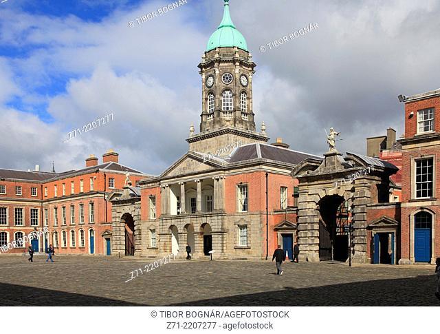 Ireland, Dublin, Castle, Upper Yard, Bedfort Tower,