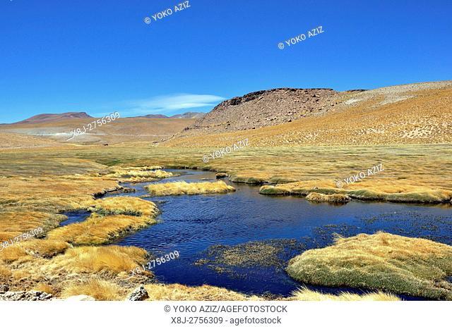 Argentina, Salta region, labyrinth desert
