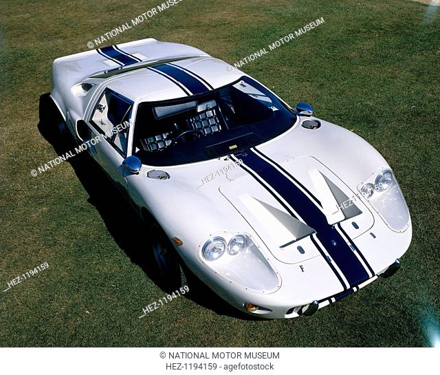 Ford GT-40, c1966-c1969. The GT-40 was designed specifically to win the Le Mans 24 Hour Race. The Mark II proved successful