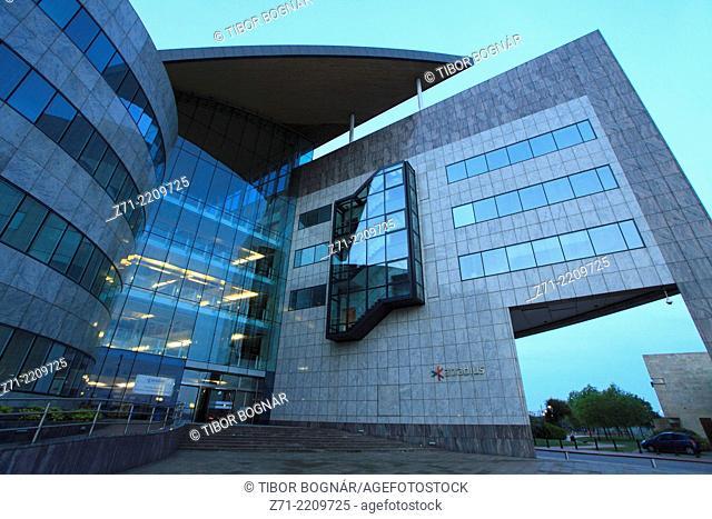 UK, Wales, Cardiff, Bay, Atradius Building,