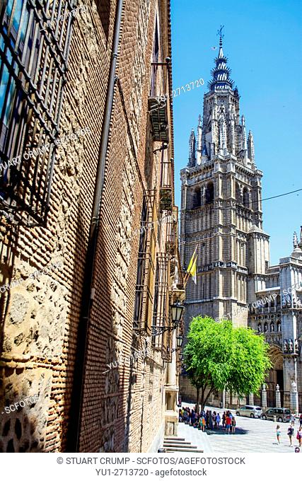 Belltower of the Primate Cathedral of Saint Mary of Toledo
